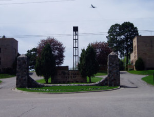 Belltower in memory of Major General Ray S. Miller
